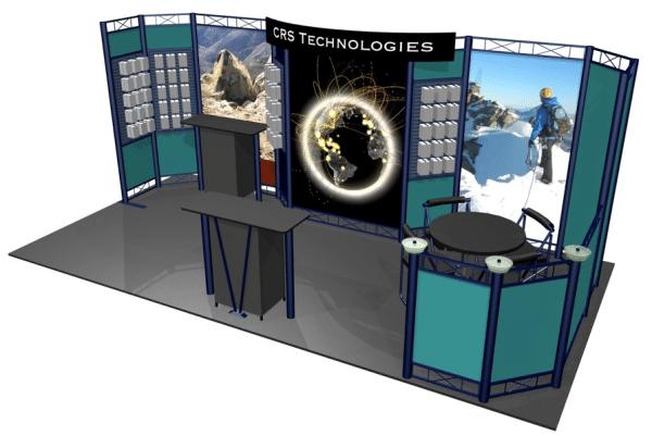 10x20 hyperlite trade show display zaxxon resized 600 - Kitchen Sink Displays