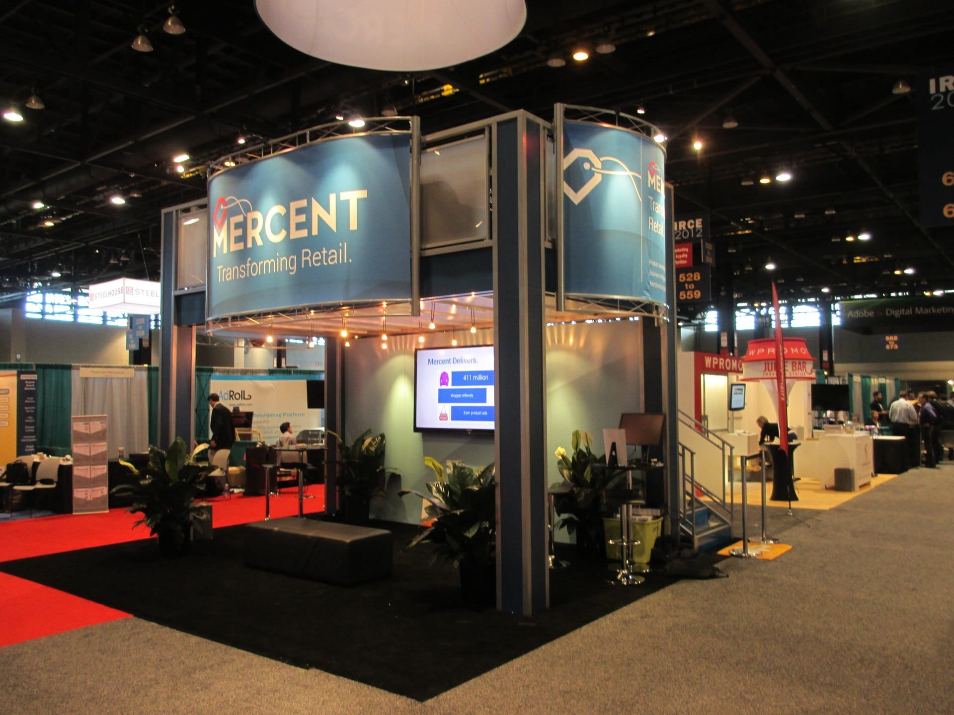Exhibition Booth Structure : Tips for turning your trade show displays into an oasis