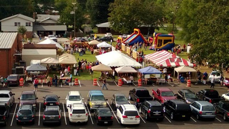 why trade show? does a harvest fest count?