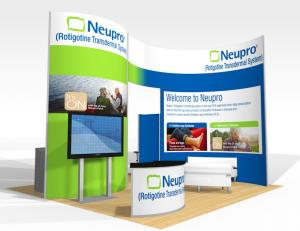Trade Show Displays - Rental Inlines and Islands