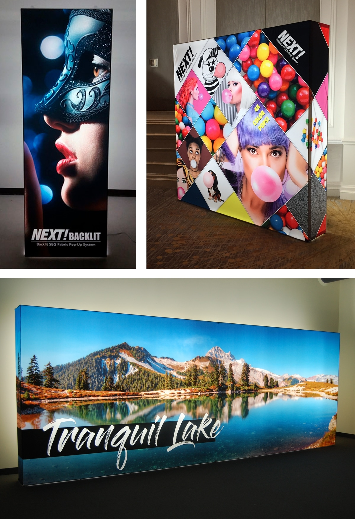 Fabric Exhibition Stand Zones : Great trade show display ideas to attract traffic american image