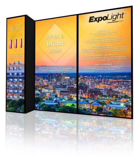 Expolight Backlit Modular Display