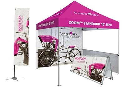 zoom standard tent